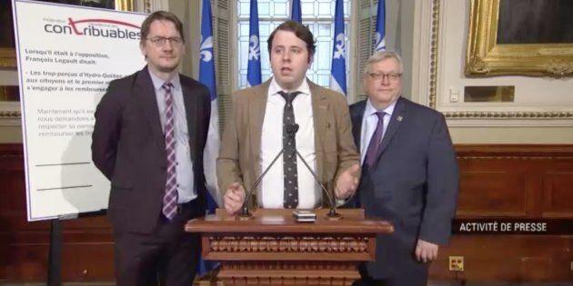 On ne s'attendait pas à cette drôle d'alliance entre le PQ, le PLQ et la Fédération canadienne des