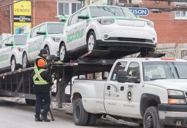 Téo Taxi a mis fin à ses activités au mois de janvier