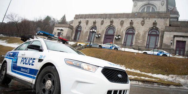 Le prêtre de l'oratoire Saint-Joseph Claude Grou a été poignardé