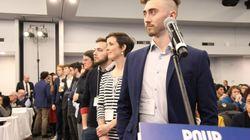 Le Parti québécois à la croisée des