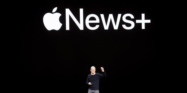 Le PDG d'Apple Tim Cook présente Apple