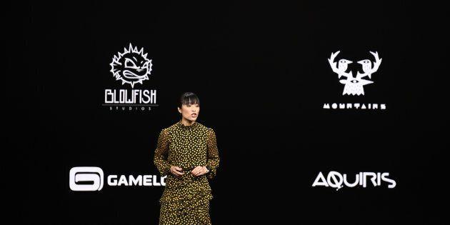 Ann Thai, directrice des produits pour l'App Store, présente Apple