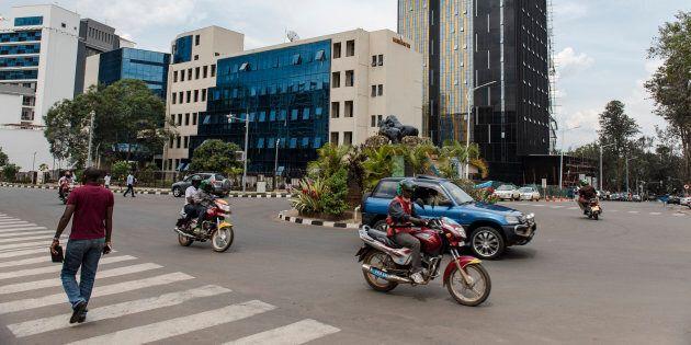 Centre ville de Kigali,