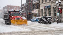 L'heure est au déblaiement de la neige: l'opération durera 5 jours à