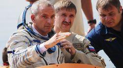 L'astronaute David Saint-Jacques se prépare pour le départ vers la Station spatiale
