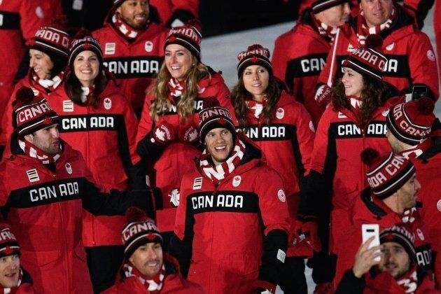 La délégation canadienne (parmi) les mieux habillées à la cérémonie d'ouverture des JO de