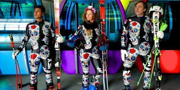 Les uniformes de ski alpin du Mexique attirent l'oeil aux