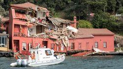 Un cargo de 225 mètres éventre une villa historique à