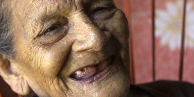 Guadalupe Palacios, 96 ans, a grandi dans la pauvreté, dans un village indigène, et a passé son enfance...