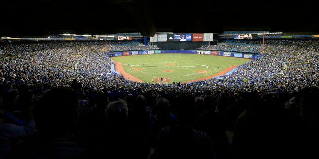 Le Stade olympique a accueilli encore cette année deux matchs préparatoires des Blue Jays de