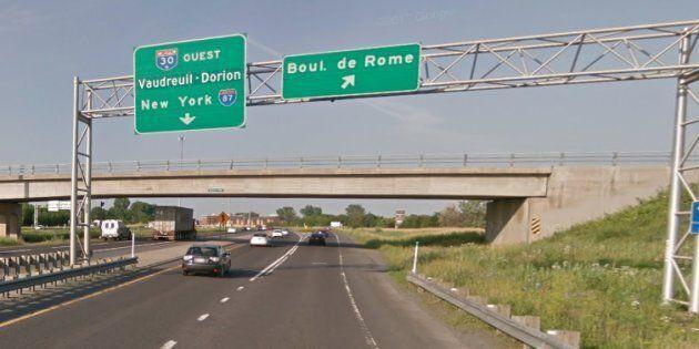 Montérégie: la voie réservée pour les autobus sera testée sur l'autoroute