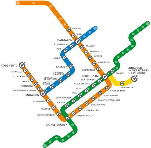 Les lignes orange et bleue du Métro complètement connectées au LTE d'ici la fin de