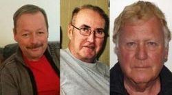 Les trois hommes disparus ont été retrouvés, dont un entre la vie et la