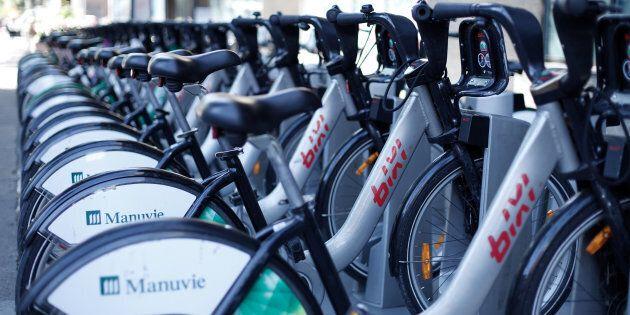 Les vélos BIXI plus populaires que jamais: forte hausse en ce début de