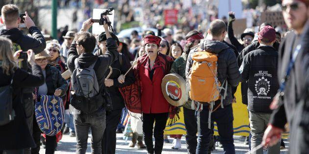 Une manifestation semblable avait eu lieu en mars en