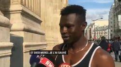 L'homme qui a escaladé un immeuble pour sauver un enfant est un Malien sans