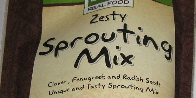 Le «Zesty Sprouting Mix» de Puresource visé par un