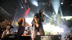 Les rappeurs de Rapkeb Allstarz font vibrer la Place des