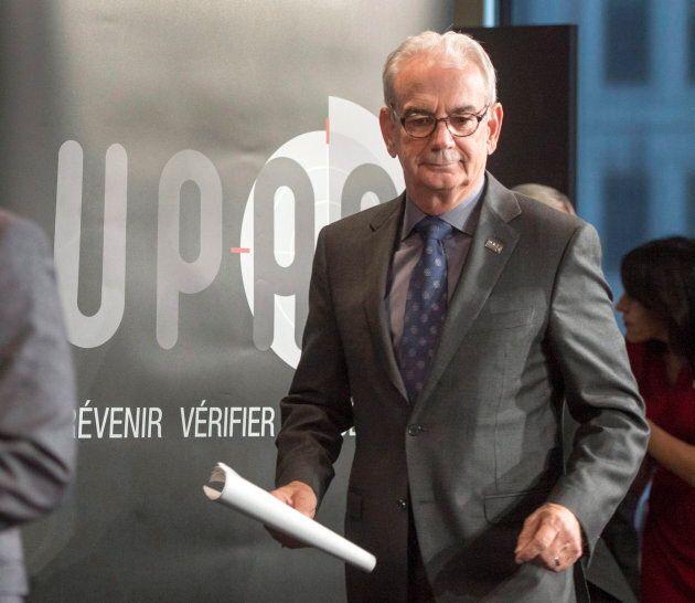 Robert Lafrenière n'a plus sa place à la tête de l'UPAC, estime Lino