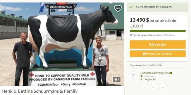Une page a été créée sur le site gofundme.com pour soutenir la