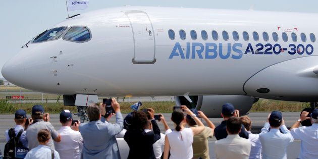 Airbus: la CSeries est rebaptisée au nom de
