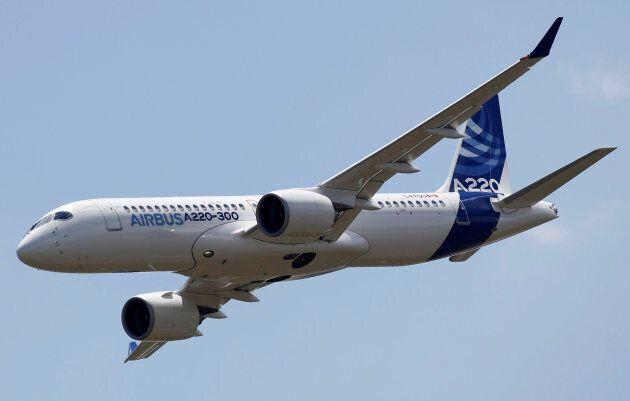 Le Airbus A220-300 a été présenté à