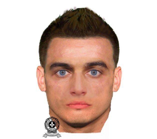 La police a diffusé un portrait-robot de l'homme recherché pour voies de fait causant des