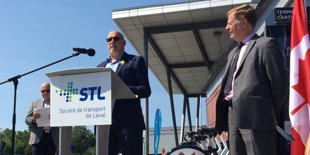 Laval implante un tout premier système de partage de vélos