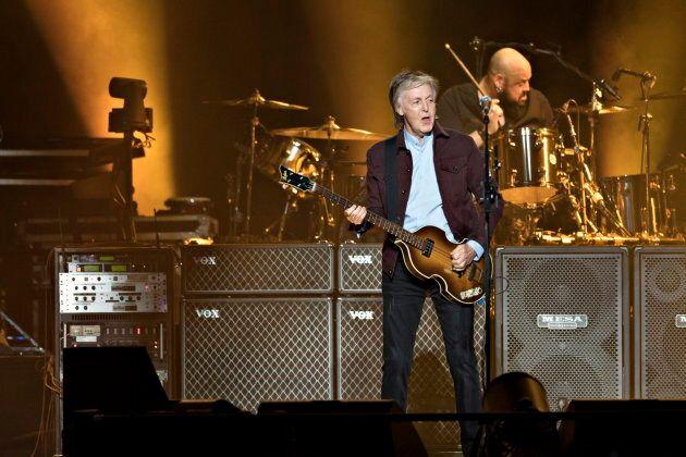 Paul McCartney a commencé la tournée «Freshen up» à Québec,