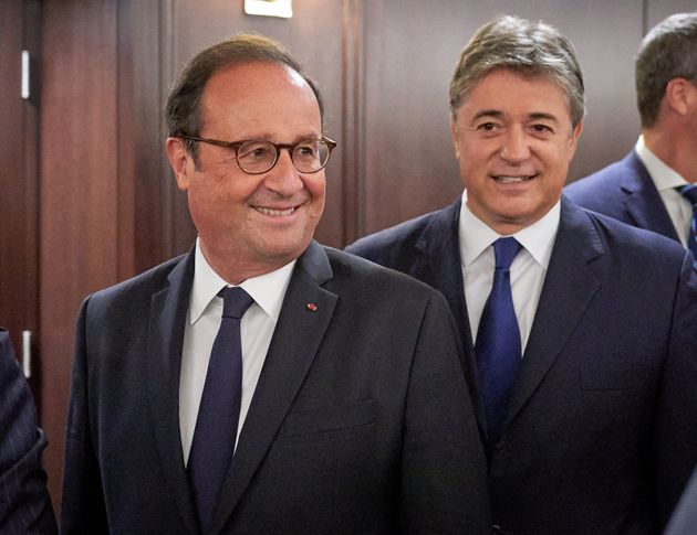 François Hollande appelle les démocrates à s'unir pour contrer le