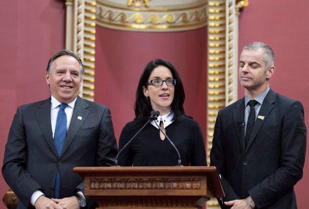 Sonia LeBel, nouvelle députée de Champlain, est pressentie pour devenir ministre.