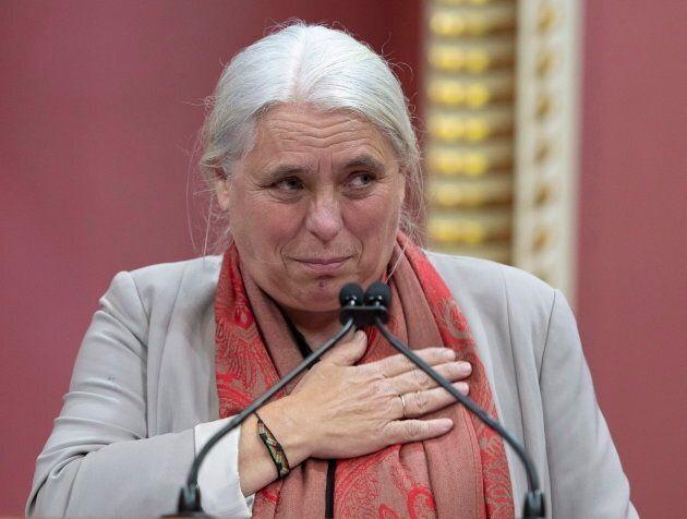 Manon Massé a qualifié le serment à la reine Élisabeth II de «rituel archaïque et franchement désagréable».