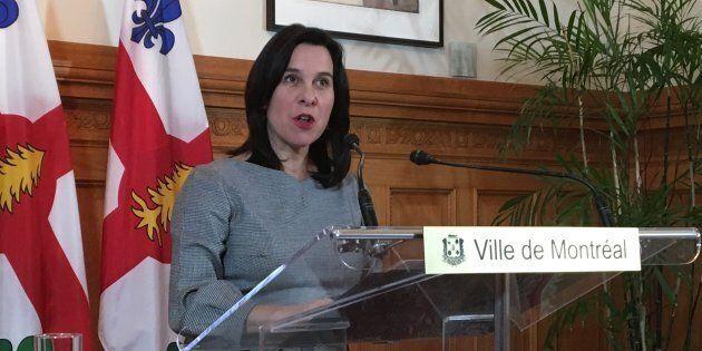 Valérie Plante réagit à la nomination du conseil des ministres de François