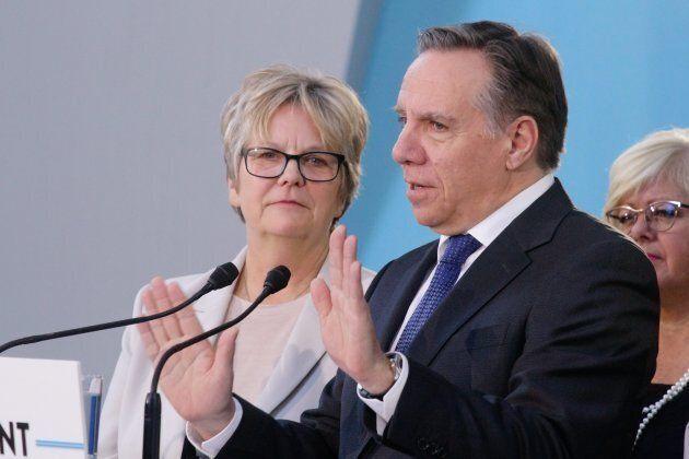 François Legault a nommé Chantal Rouleau ministre responsable de Montréal.