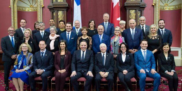François Legault a présenté un Conseil des ministres composé de nombreux nouveaux visages,