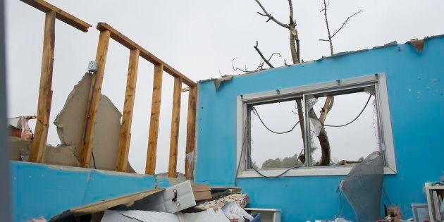 Une tornade a frappé le secteur Mont-Bleu de Gatineau le 21 septembre 2018, faisant plusieurs