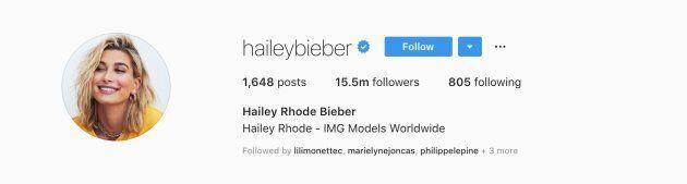 Hailey Baldwin a changé son nom pour Hailey