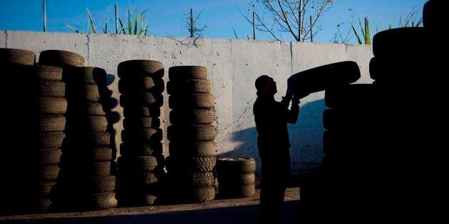 Recyc-Québec dirige les automobilistes vers les points de dépôt pour pneus