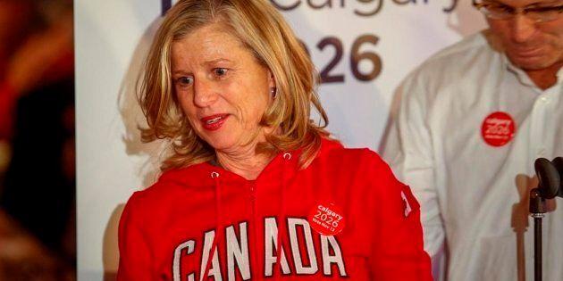Mary Moran, la PDG du comité d'organisation des Jeux olympiques de 2026 à