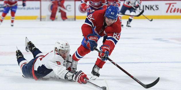Le Canadien de Montréal l'échappe en prolongation face aux Capitals de