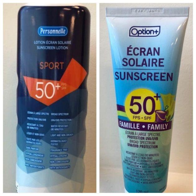 Rappel de crèmes solaires