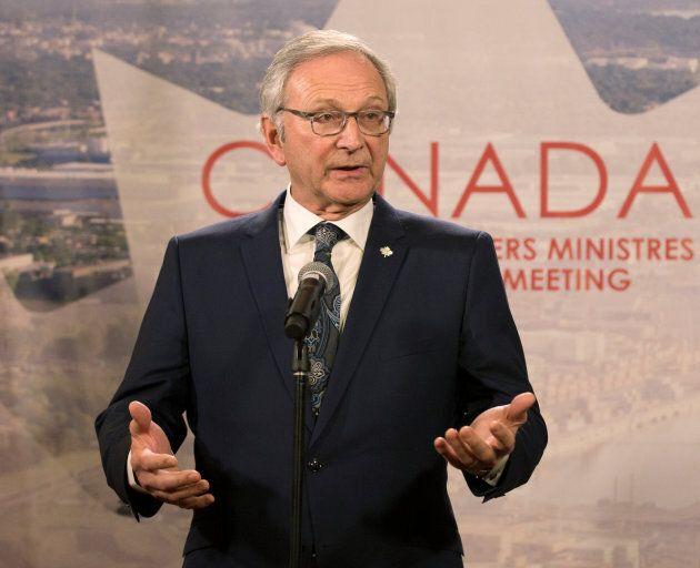 Blaine Higgs, premier ministre du Nouveau