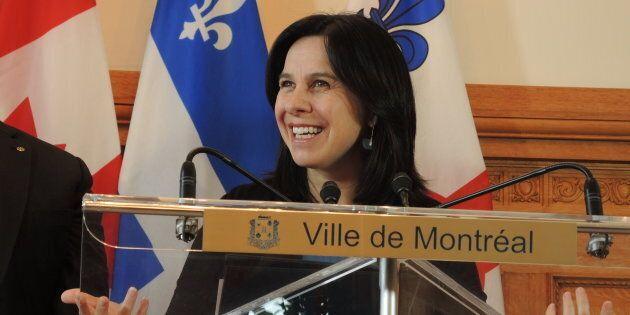 Royalmount: Valérie Plante entend forcer un arrêt temporaire, au