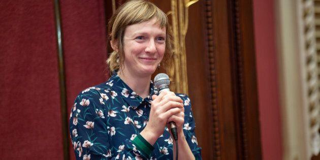 La députée de Québec solidaire dans la circonscription de Taschereau, Catherine Dorion