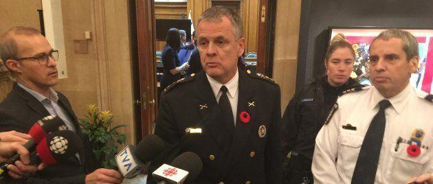 Le SPVM présentera son rapport sur les caméras corporelles aux élus de Montréal le 1er