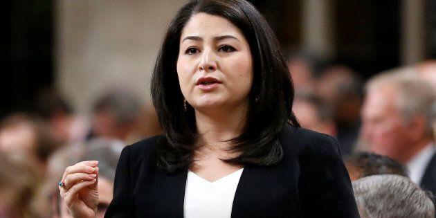 La ministre canadienne du Statut de la femme, Maryam