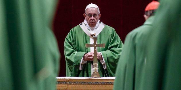 Le pape François a célébré une dernière messe le dimanche 24 février 2019 pour clôturer son sommet extraordinaire...