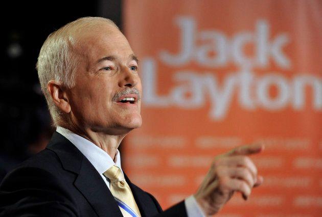 L'ancien chef du NPD Jack Layton a eu besoin de huit ans avant que le parti ne connaisse le succès lors des les élections fédérales 2011.
