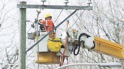 Hydro-Québec a payé 164 M$ en temps supplémentaire en