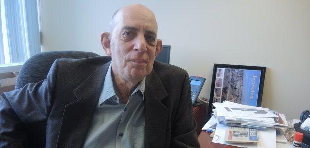 Marvin Rotrand, doyen du conseil municipal de Montréal. (crédit: Olivier